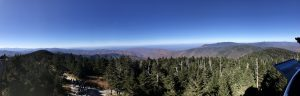 Clingmans Domeパノラマ景色