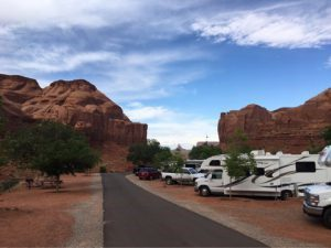 Goulding's Campground(ゴールディングズ・キャンプグランド)というRVパーク