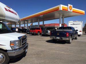 グランドキャニオンのガソリンスタンド
