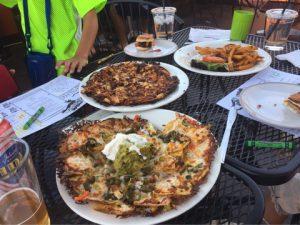 ザイオン国立公園の食事