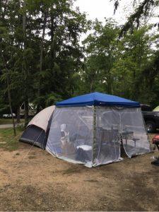 キャンプ用蚊帳