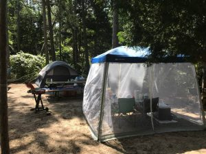 オンタリオ州立公園に3泊4日でキャンプ
